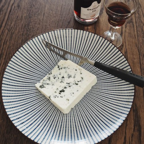 Blue cheese and Porto