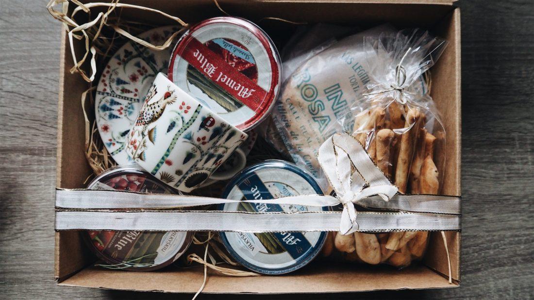 Kalėdinės dovanos su sūriu