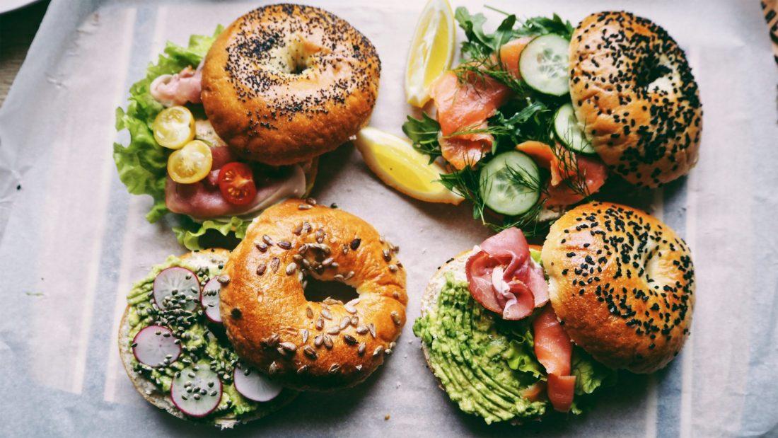 Beigelių sumuštiniai