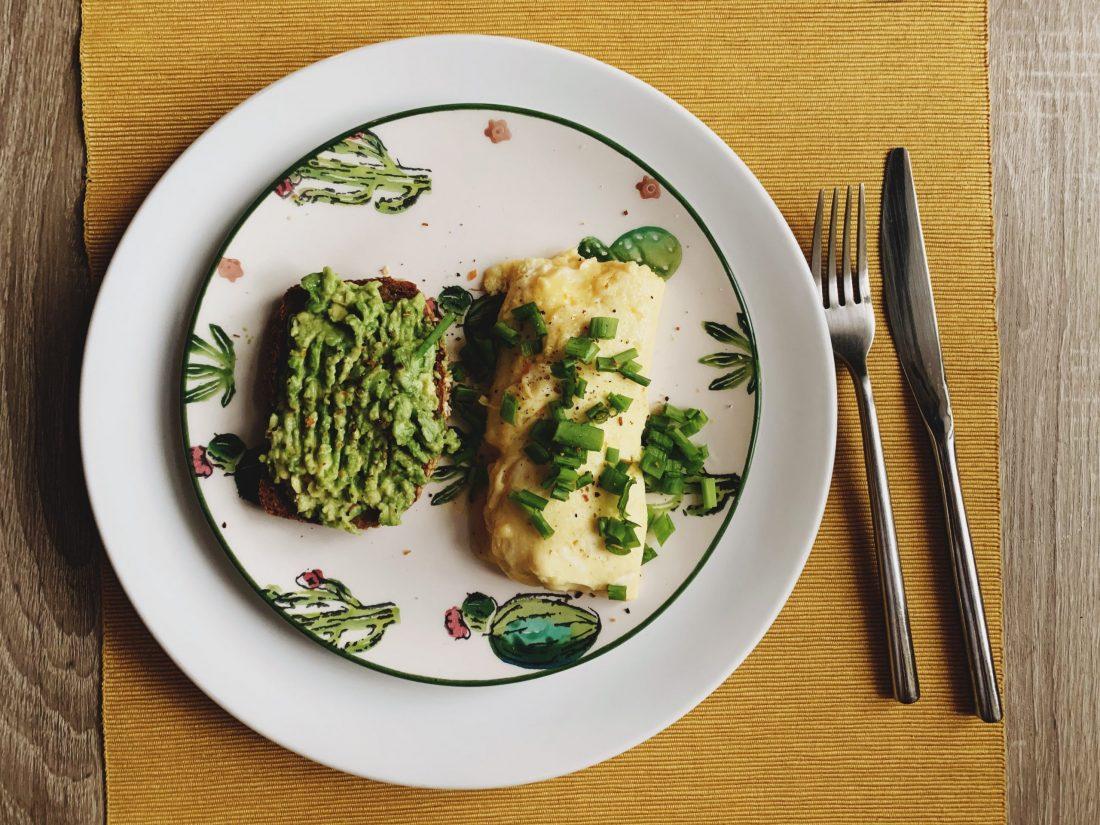 Prancūziškas omletas su sūriu